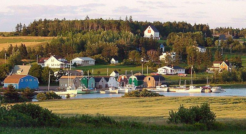 Lobster boats - RFR is far right