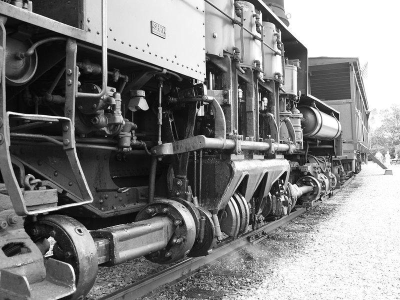 El parque estatal Cass Scenic Railroad se encuentra a pocos kilómetros de Rimfire