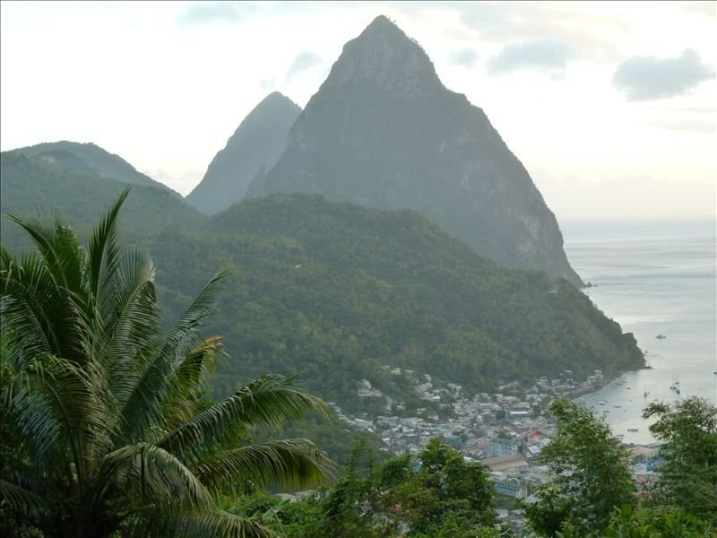 Take an excursion to the breathtaking World Heritage Pitons in Soufriere village