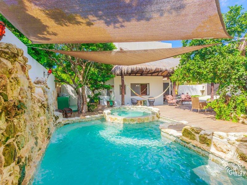 Casa Mayaland a secluded Jungle Oasis!, vacation rental in Playa Mujeres