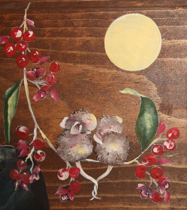 You found us, we're 'Honey Moon' Mice.  Only six more to go.