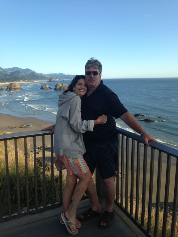The owners at Cannon Beach