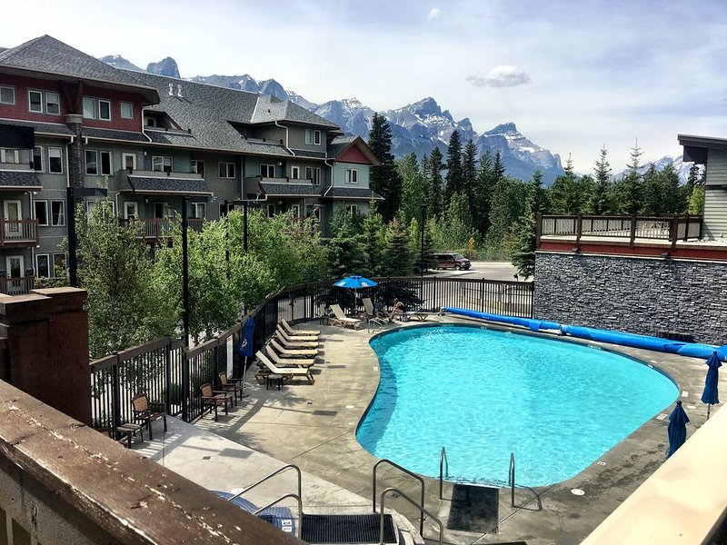 Heated outdoor pool and hot tubs.