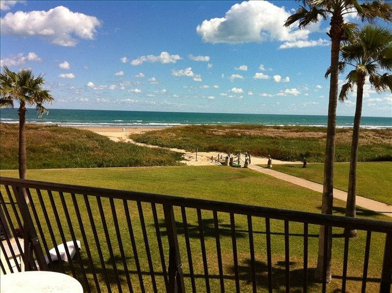 Great Private Balcony at #207 with Exquisite Views