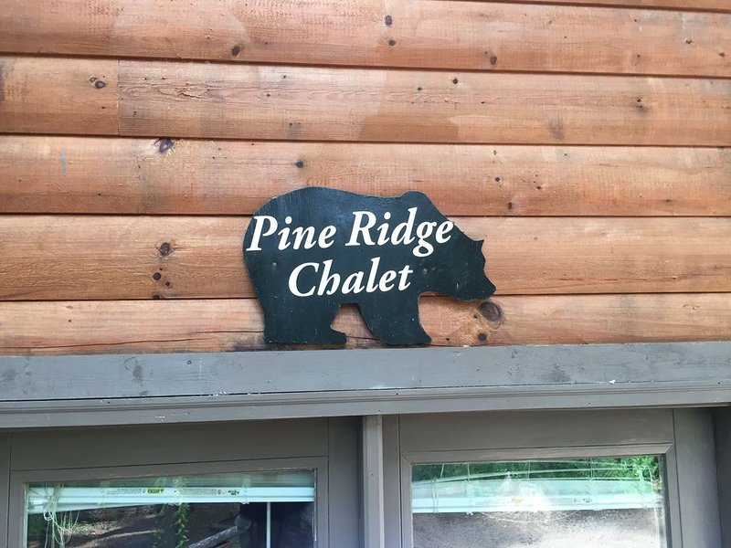 Glenn Acres- Pine Ridge Chalet-  Creekside- Mountain-Secluded- QUIET!, holiday rental in Candler