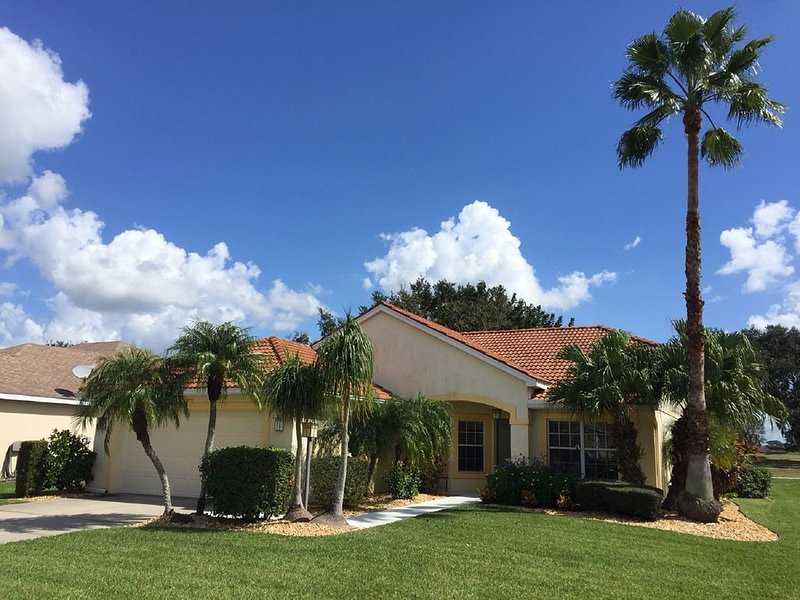 3 Bedroom Enclosed Pool Villa located right on the 16th Hole of Moccasin Wallow