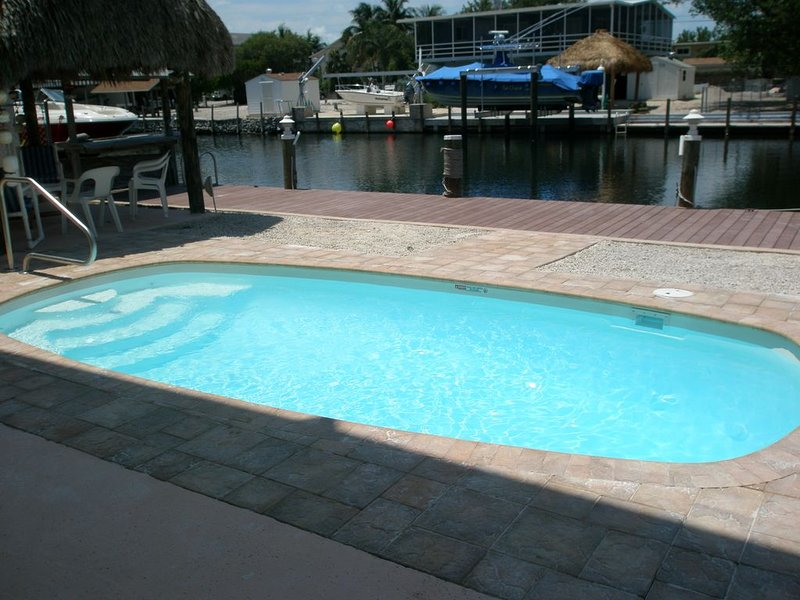 Luxury, Elegant, Water Front Home, Heated Pool, Plantation Key, Islamorada, location de vacances à Key Largo