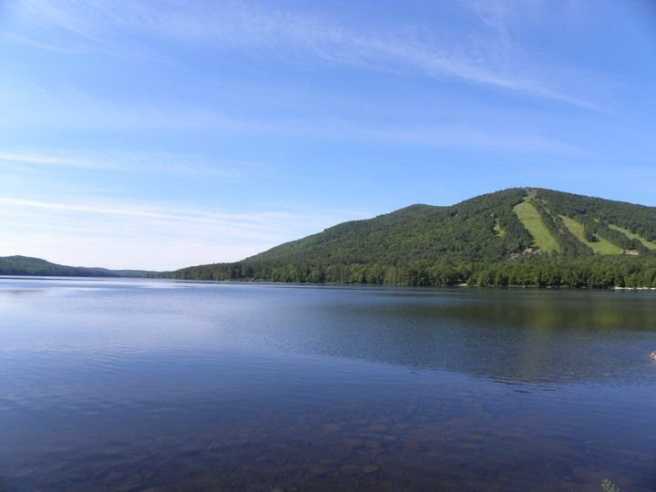 Great hiking and Water fun on Moose Pond and Shawnee Peak on Pleasant Mountain.