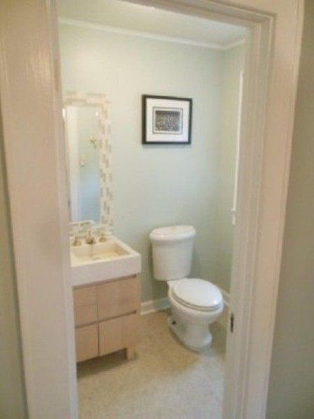 premier étage, demi-bain