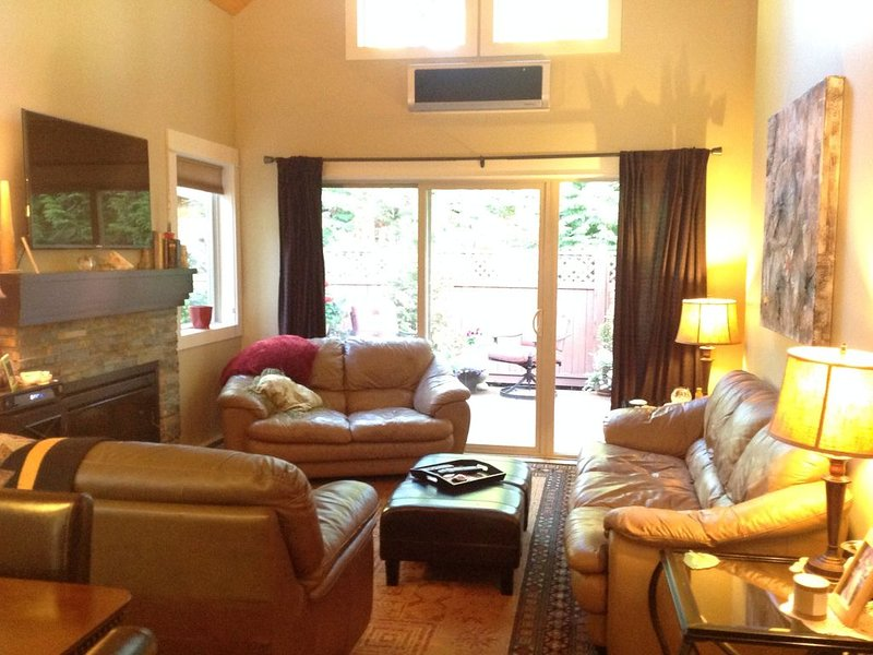 Pet Friendly 2 bedroom plus loft, in Parksville's beautiful resort area, holiday rental in Errington