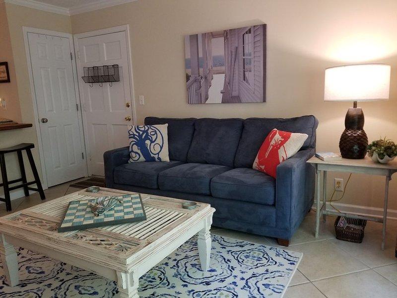 Reduced monthly rates for Lovely One Bedroom at Ocean Walk on SSI, GA, alquiler de vacaciones en Brunswick