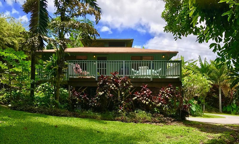 Family Vacation Rental,  4 Minute Drive to Hamoa Beach, Ferienwohnung in Kipahulu