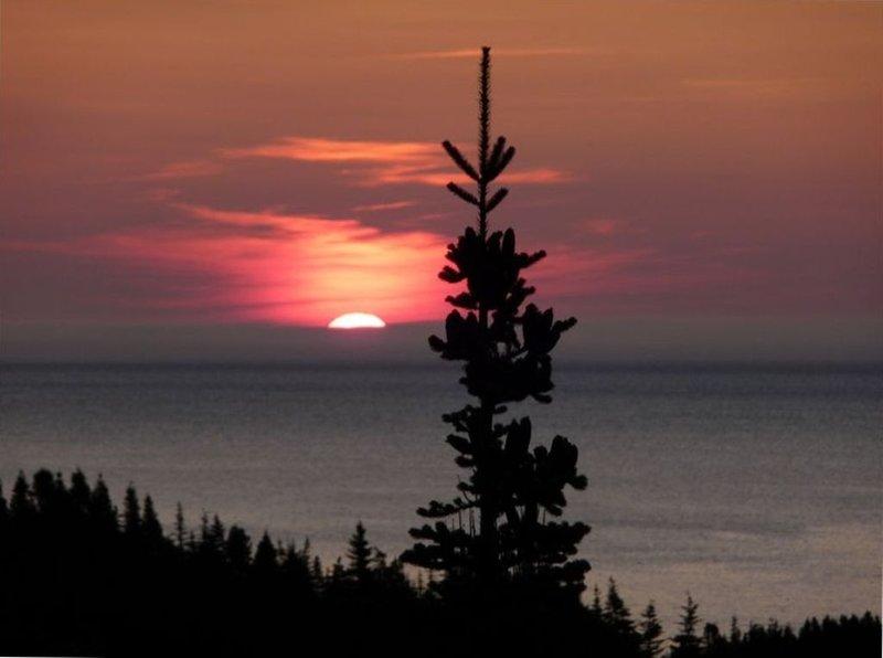 Lever de soleil depuis le belvédère d'Anchor Rock