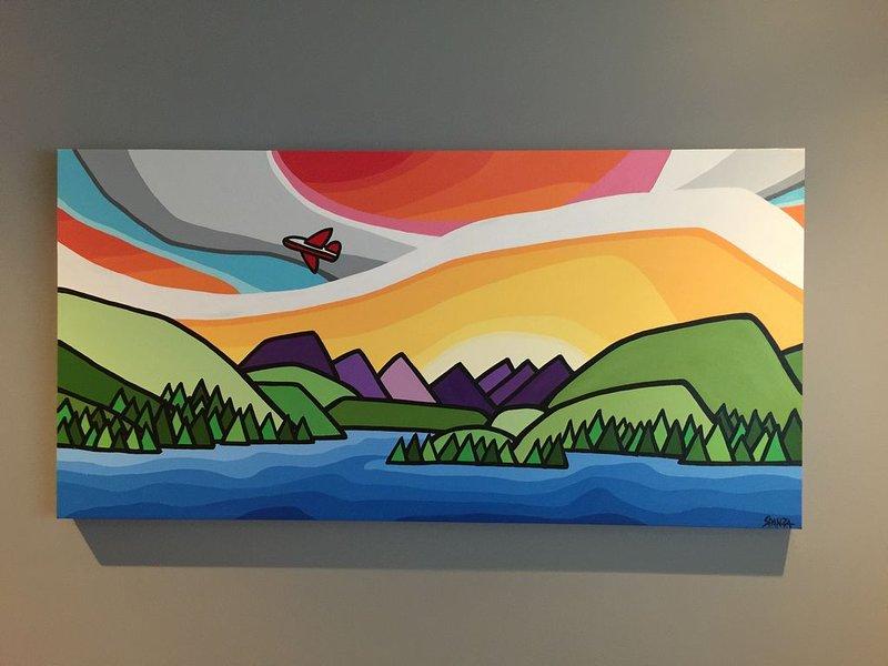 Reproduction d'artistes du lac Sproat