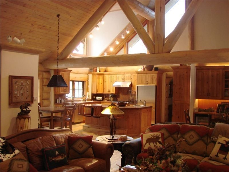 Luxury Log Cabin - 10 Acres on the Famous Weber River. Near Park City, holiday rental in Woodland