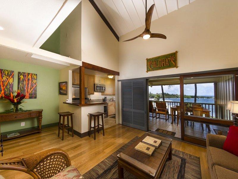 Hana Kai Maui-Oceanview 'Waiohinu' (Unit #204) Upper Floor-Amazing View & Decor, holiday rental in Hana