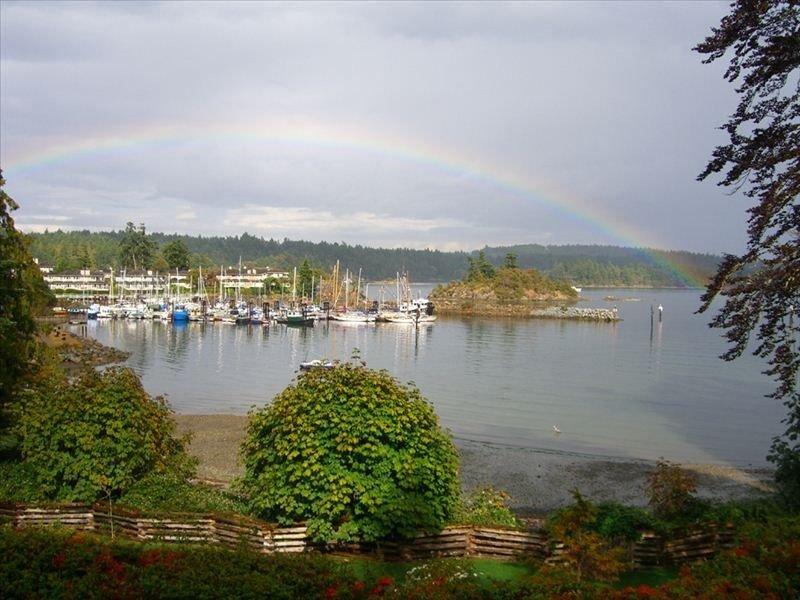 een paar dagen na je verblijf merk je 'echt, een andere regenboog!'