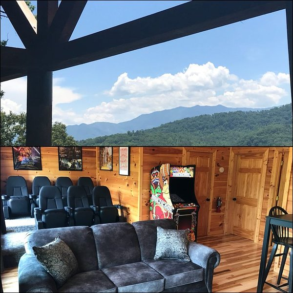 Brand New Listing*Completely Renovated Luxury!*Theater*Lovely Views*Pool*Hot Tub, vacation rental in Pigeon Forge