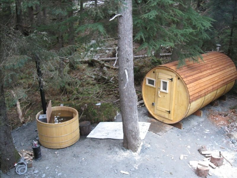 Luxurious Comfort, Privacy,  Wood-fired Hot Tub and Sauna!, holiday rental in Girdwood