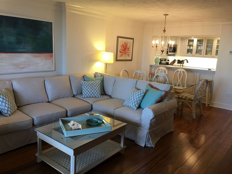 Jan-Mar month rate - Renovated, Ocean Front, 1st level, no elevator beach access, vacation rental in Myrtle Beach