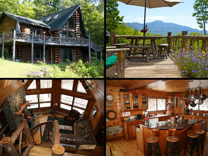 Panoramic Mountain Views From This Private Mountain Cabin., alquiler de vacaciones en Keene