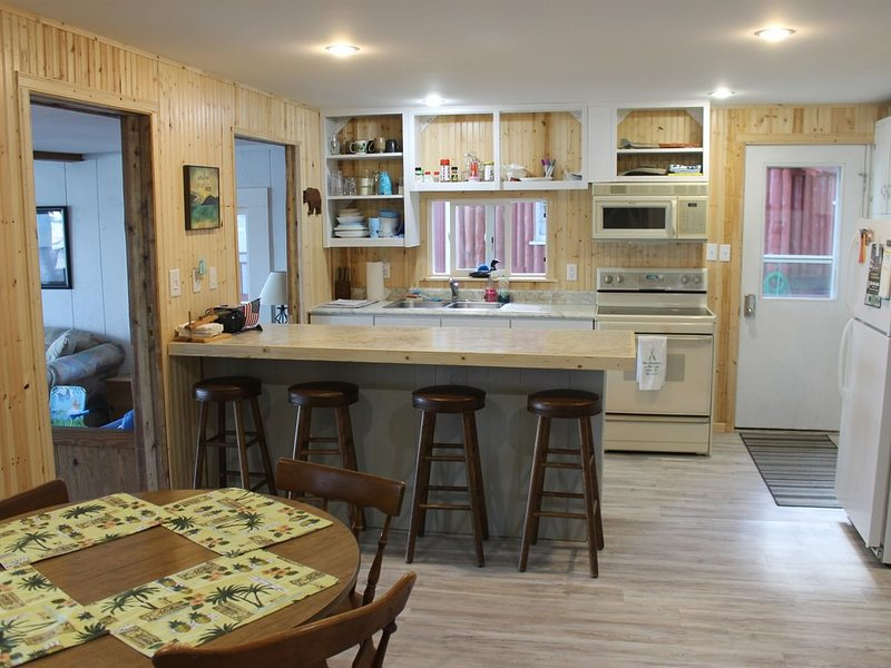 Sleeps Up To 12 People!  Directly On The Pristine Sandy Bottom All Sports Lake!, holiday rental in Manistee County
