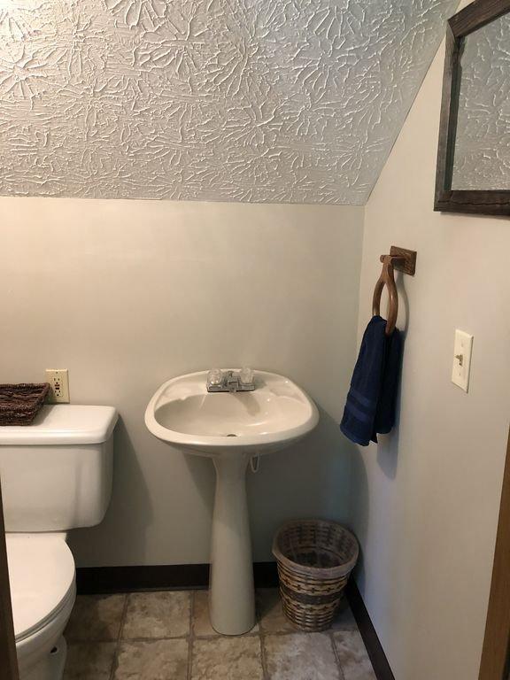 Third floor half bath