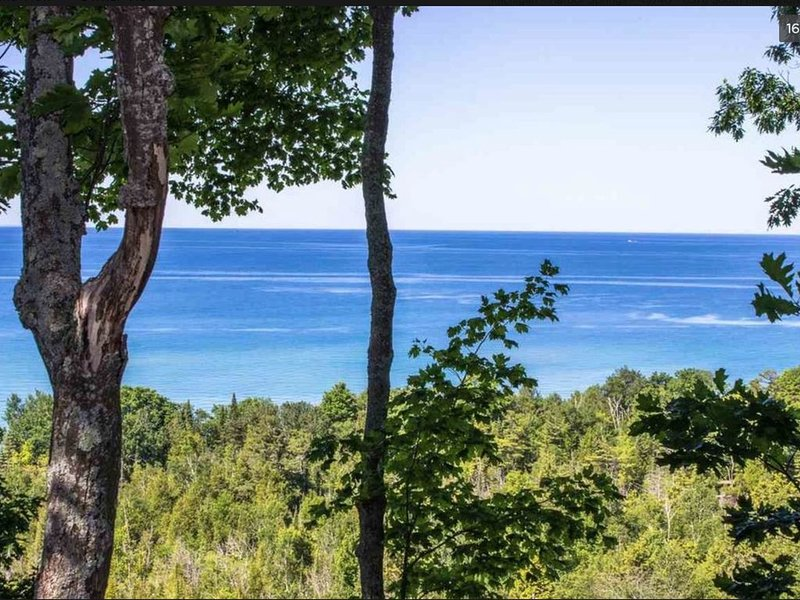 Amazing Lake Michigan Views from Bluff Meadows; 3 Miles From Harbor Springs, location de vacances à Harbor Springs