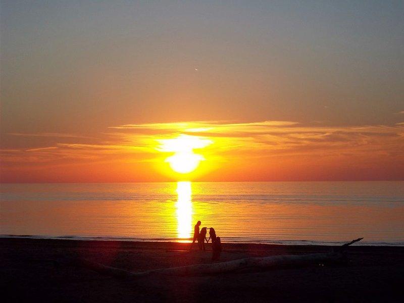 sunset on one of the 4 beaches on Manasota Key