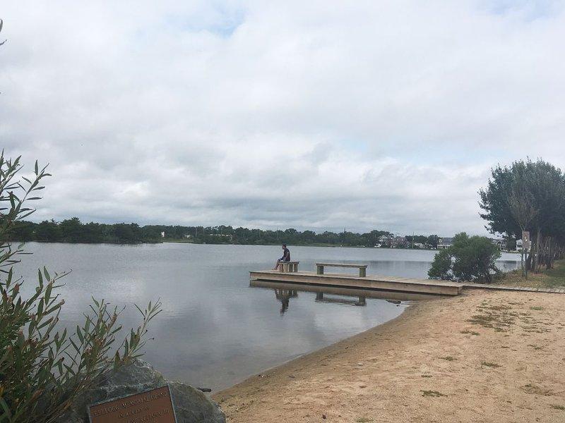 Twilight Lake am Ende der Straße