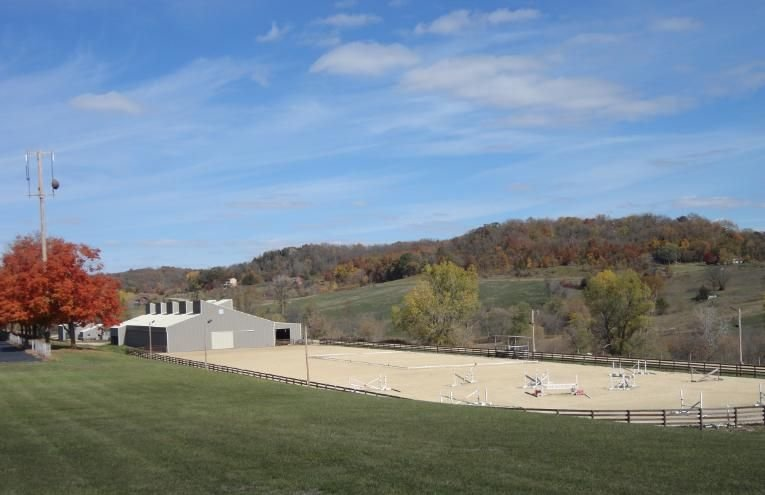 The nearby Shenandoah Riding Center