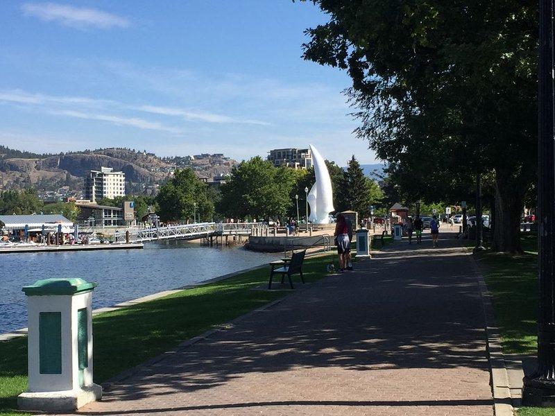 Downtown City Park Walkway