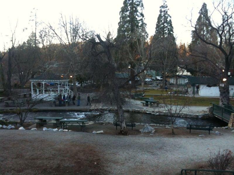 Beautiful community park with gazebo, creek, bridge, playground, pic nic tables