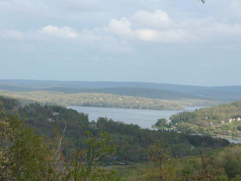 vue du lac Deep Creek