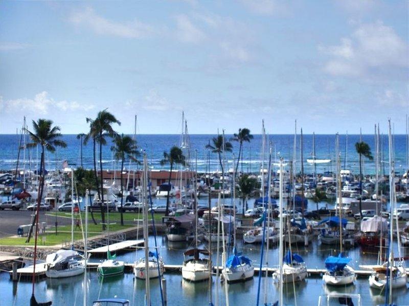 Ocean Front Marina Front Waikiki-Ilikai Marina 'Pink Plumeria', aluguéis de temporada em Honolulu