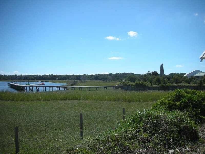 BHI Creek & Old Baldy Lighthouse. View from Leeward Ct. Your Place to Enjoy!!!