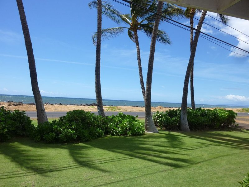 Ocean Front..Hale Kekaha Palms at the Beach...Air Conditioned  -  TVNCU #1004, vacation rental in Kekaha