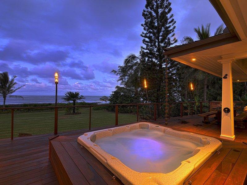 WORK REMOTE at Beachfront Home on Famous Coconut Coast TVNC 4308, alquiler de vacaciones en Anahola