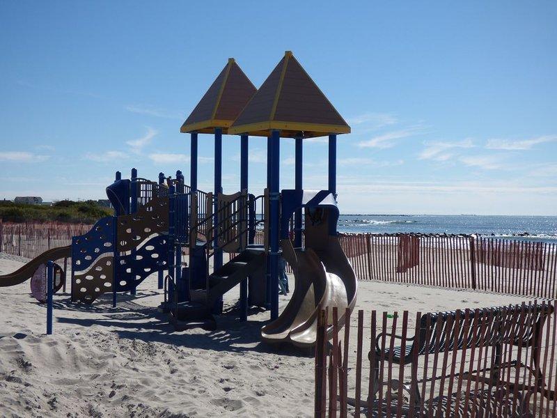Playground at Roger Wheeler Beach