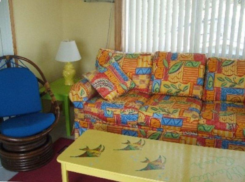 Ceci est une chambre bonus avec un canapé-lit Queen
