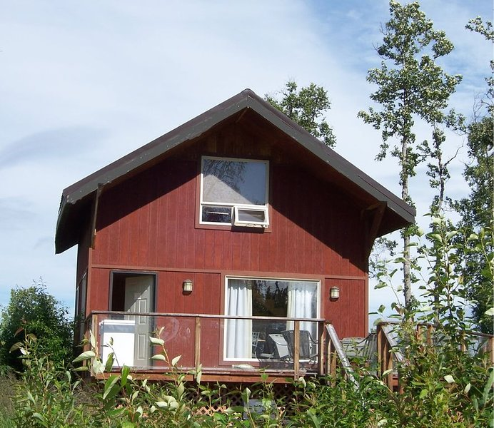 Fully Furnished Super Cute and Cozy 2 Story Cabin with Loft, vacation rental in Clam Gulch