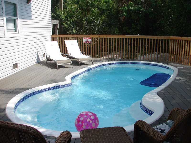 Stardance  Pool, 2 golf carts, holiday rental in Pineland