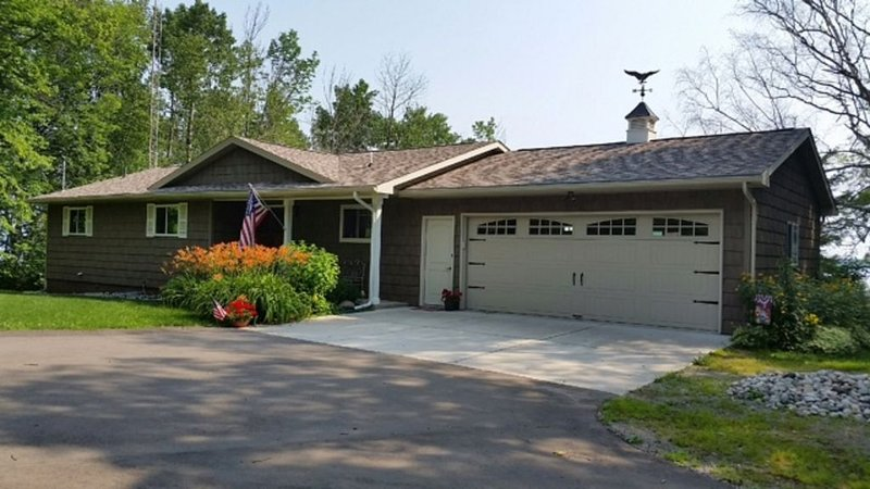 Peaceful and Private Setting on 120' of Grand Lake Frontage