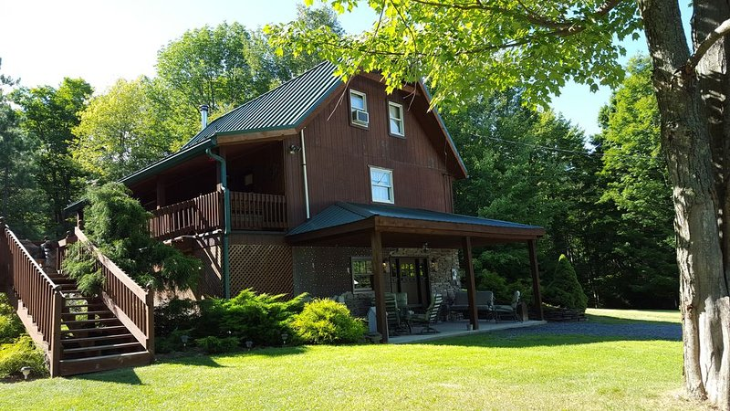 Secluded Luxury Cabin in the Endless Mountains, holiday rental in Elmira