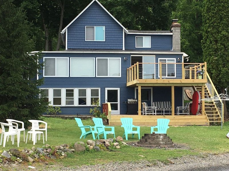 Stoney Beach Cottage on Conesus Lake - Renovated 2017, holiday rental in Wayland