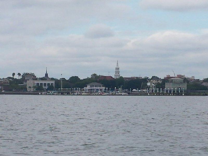 Historic downtown Charleston.