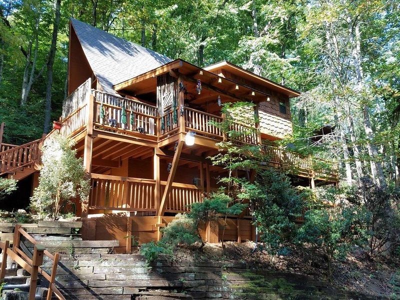 Amazing Cozy Mountain Chalet -2 miles G'burg & GSMNPark-WIFI - Pets OK-Sleeps 6+, vacation rental in Gatlinburg