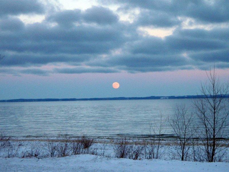 Winter wonderland at Winnie's View