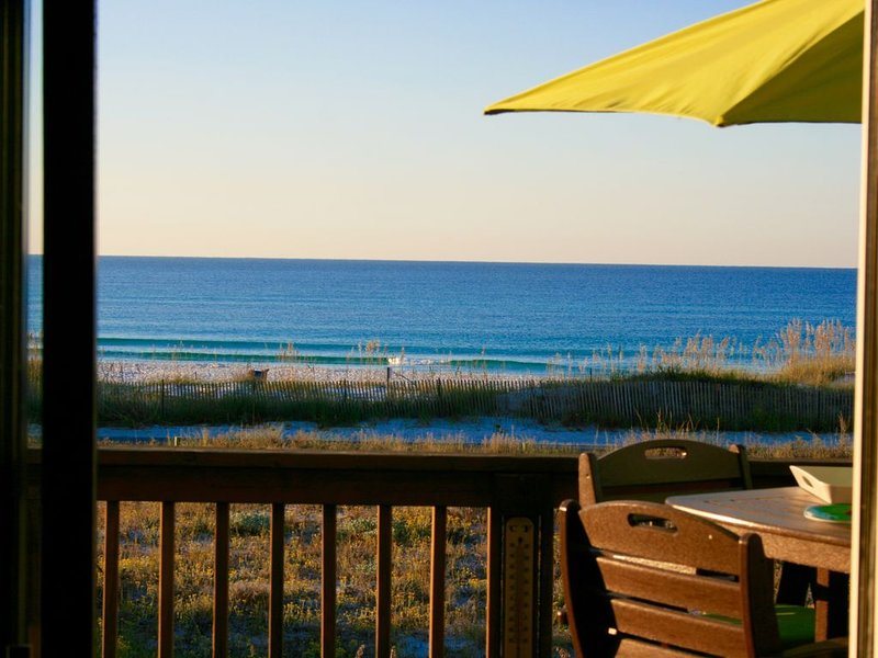 Remodeled Gulf Front Townhome, holiday rental in Seagrove Beach