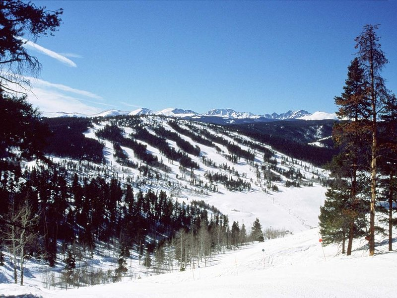 Ski Granby Ranch just 1 mile from our home